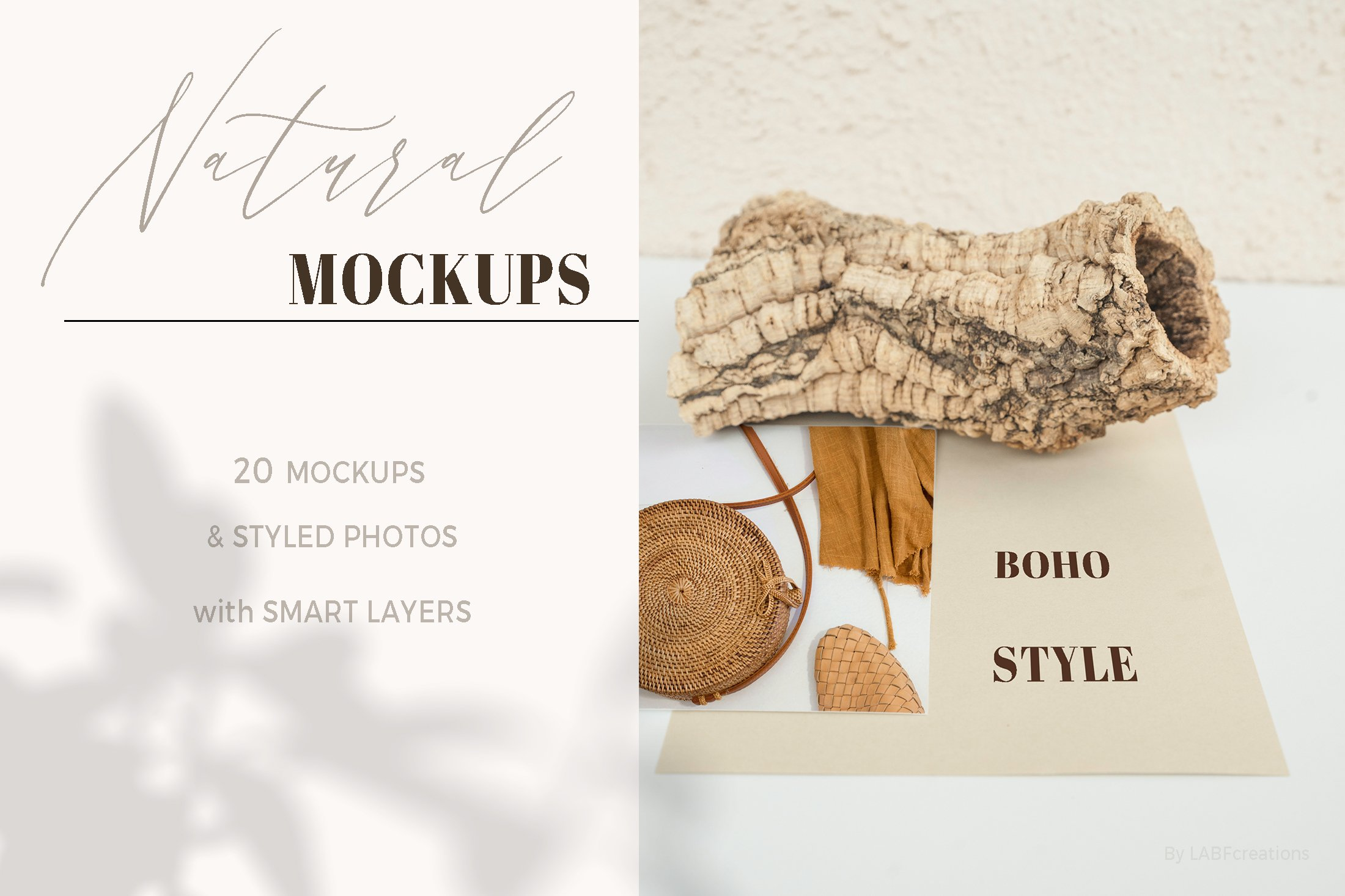 Natural. Mockup and style photos Soft and delicate nude. example image 6
