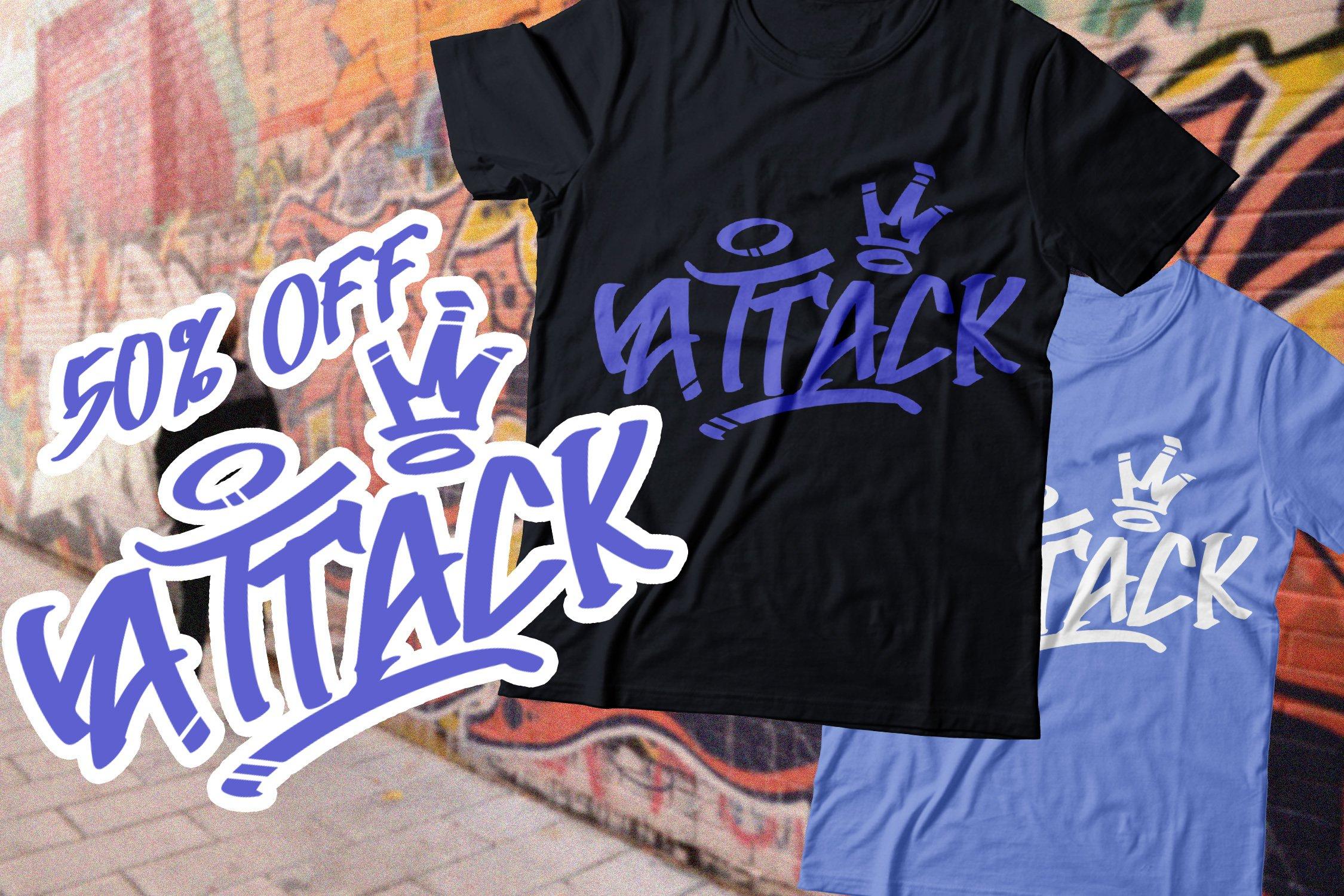 AtteThi Graffiti Font example image 4