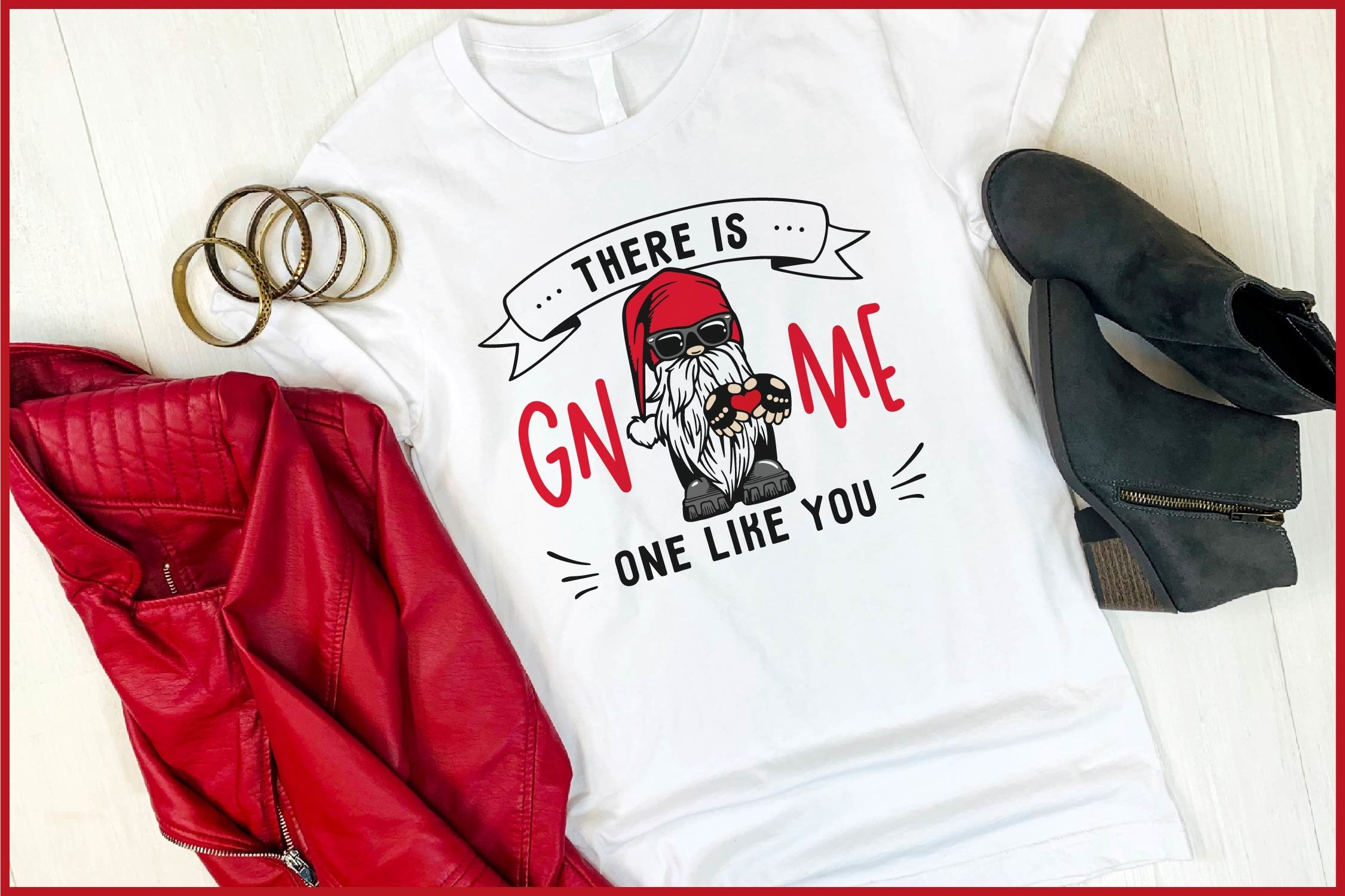 There Is Gnome One Like You Valentine S Svg Biker Gnome Svg 1148935 Cut Files Design Bundles