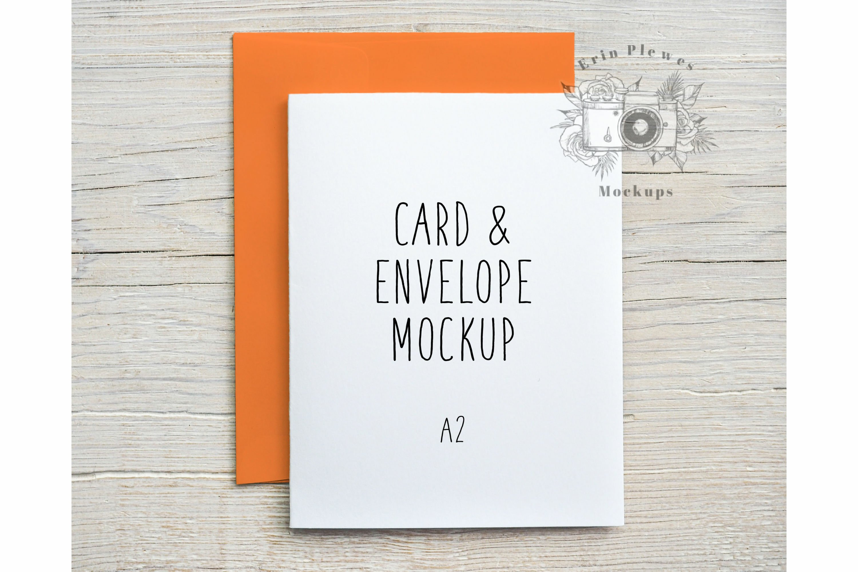 Mockup A21 Card Orange Envelope  Card Flat Lay Template Jpeg Pertaining To A2 Card Template