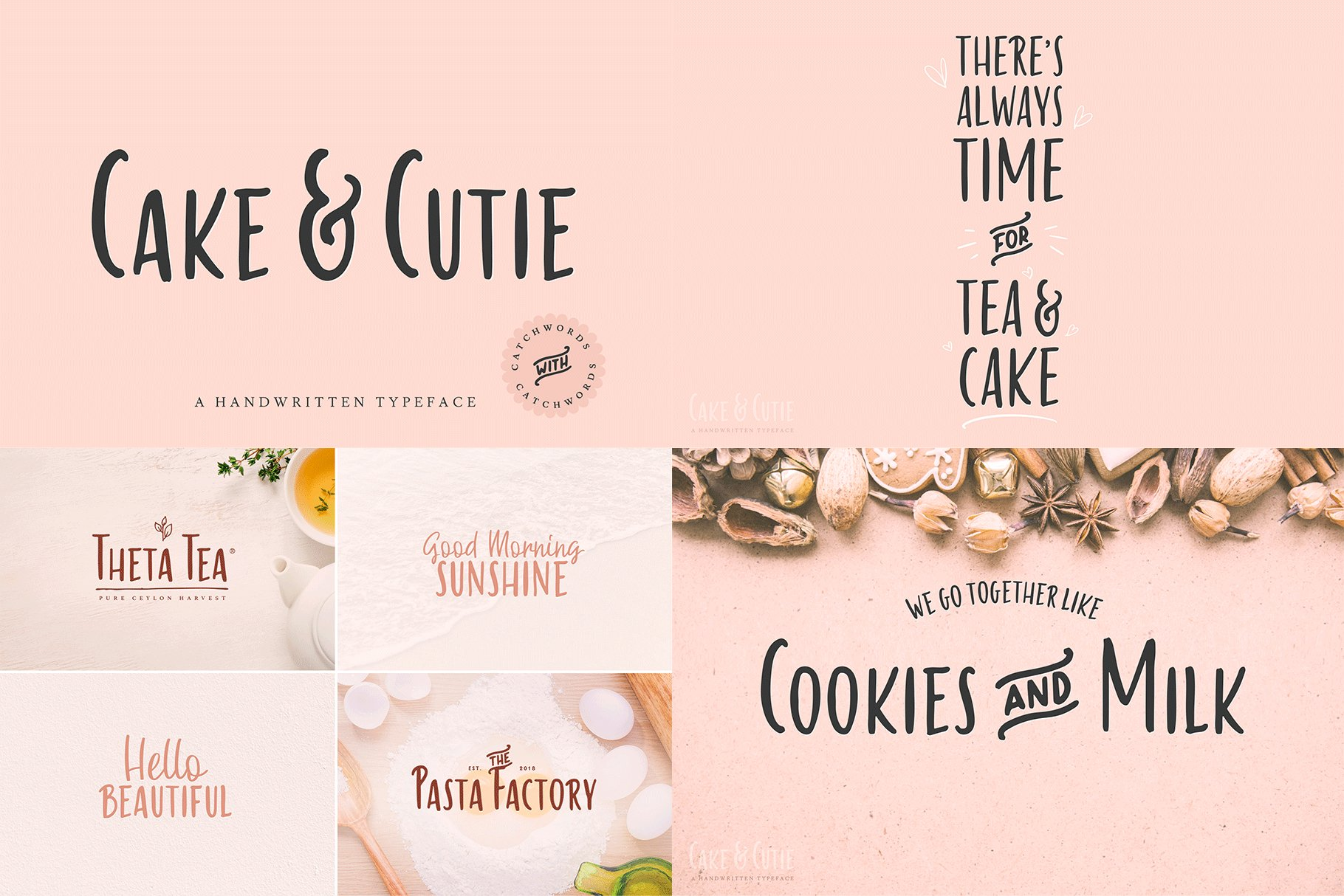 The Hand Lettered Font Bundle example image 13