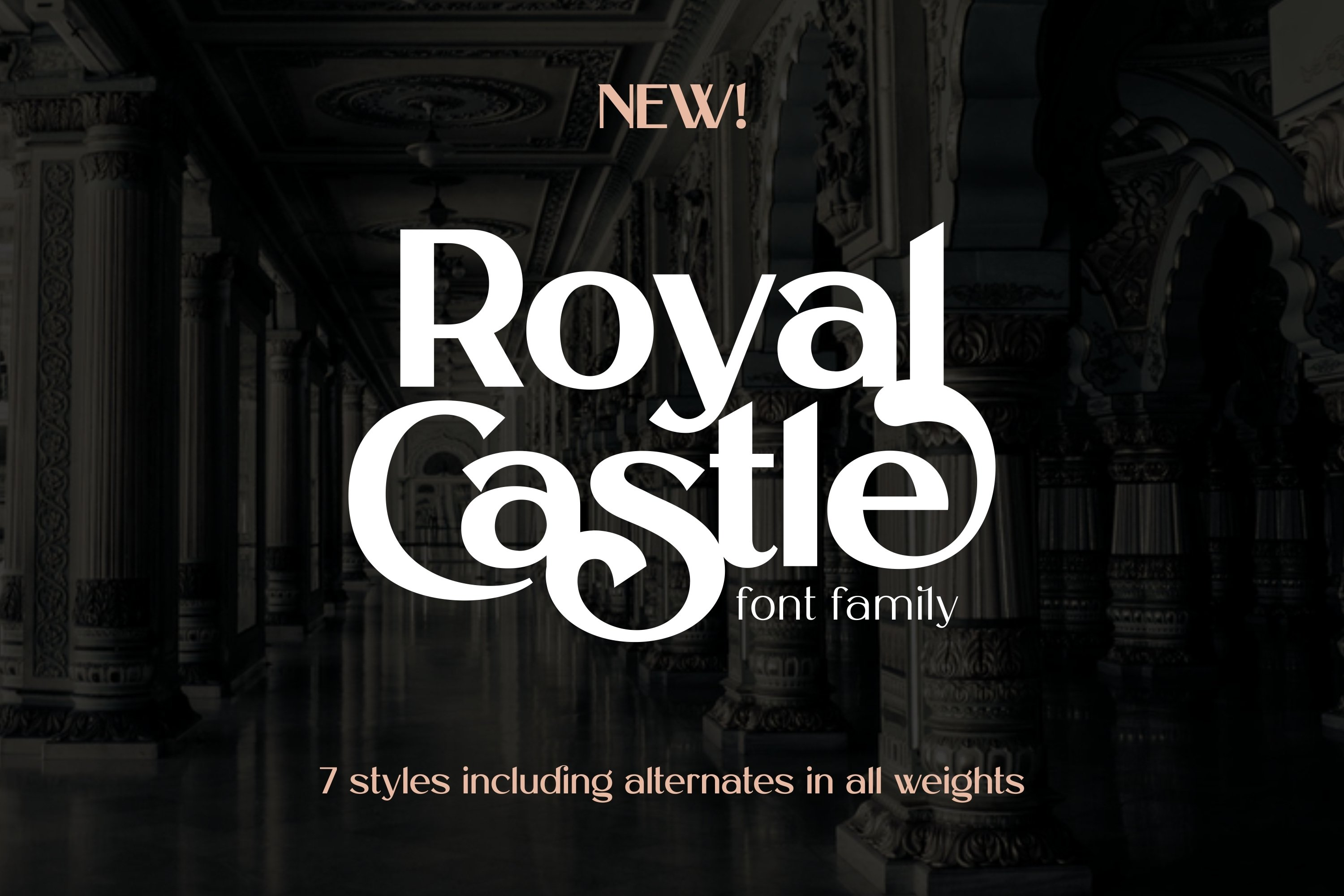 Royal Castle Font Family example image 1