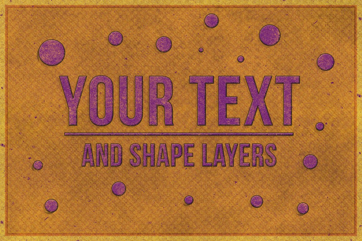 Retro Text Effect for Photoshop example image 4