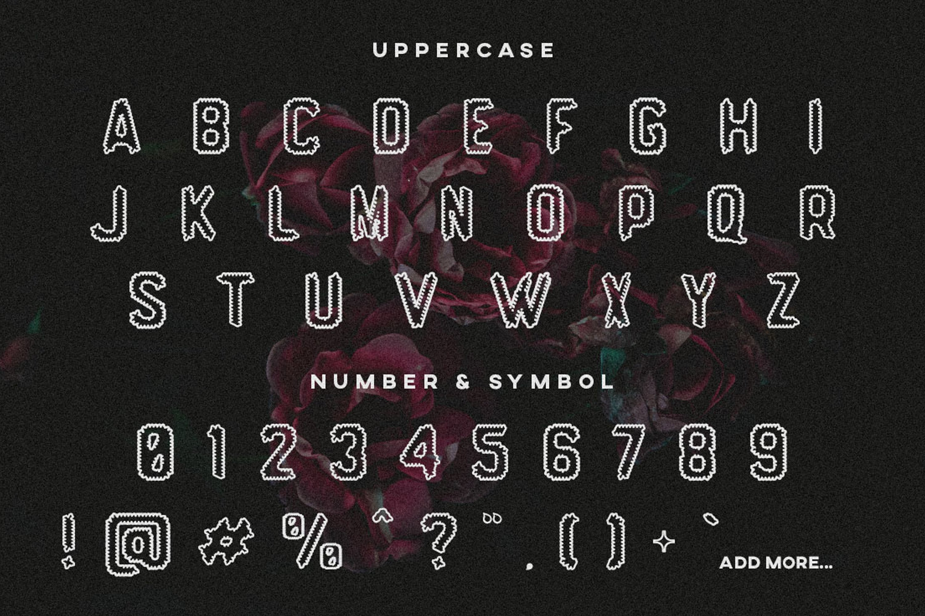 Hevag - Display Font example image 3
