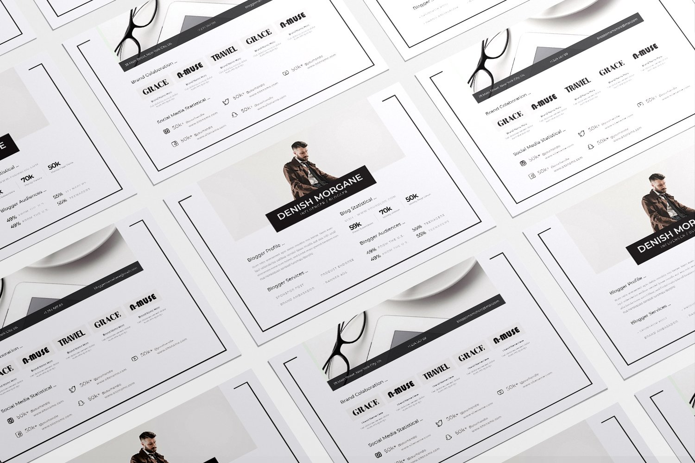 Liniez Media Kit Blog example image 3