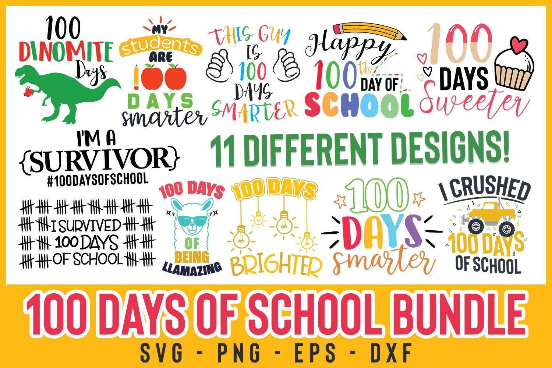 Download 100 Days Of School Bundle Cut File 100 Dinomite Days Svg 402863 Cut Files Design Bundles