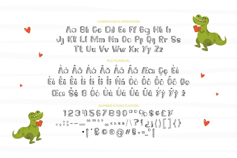 DinooSweet - Playful Display Font example image 5