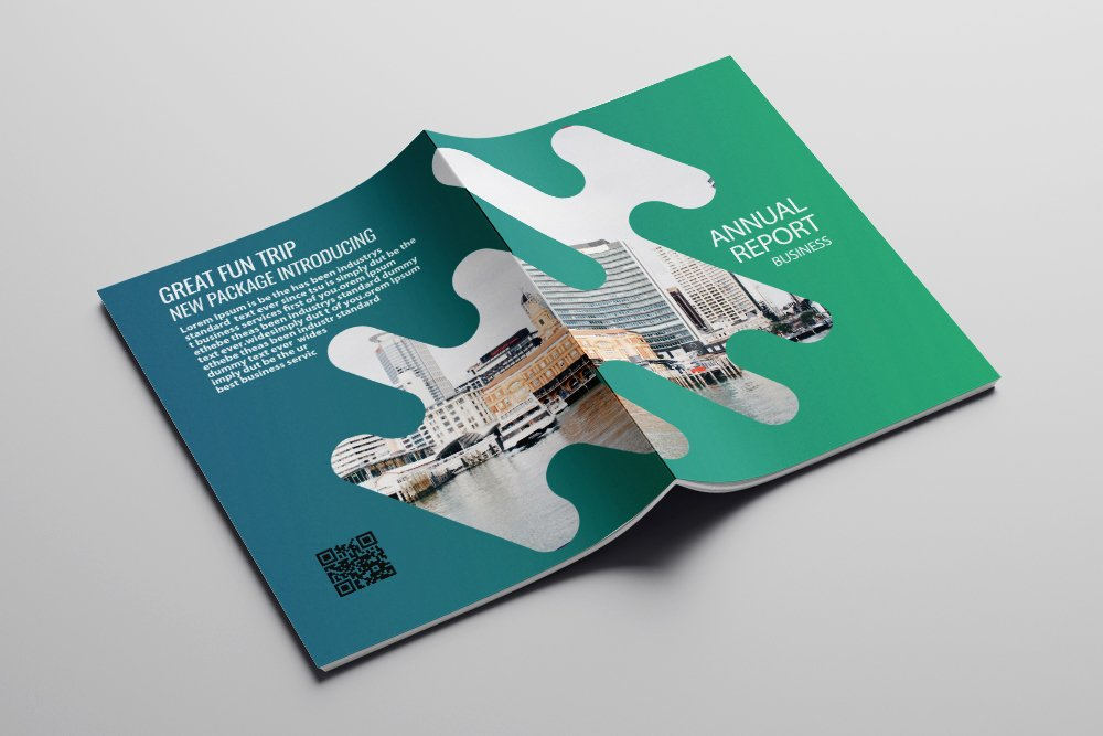 Business Catalogue Brochure 16 Pages example image 6