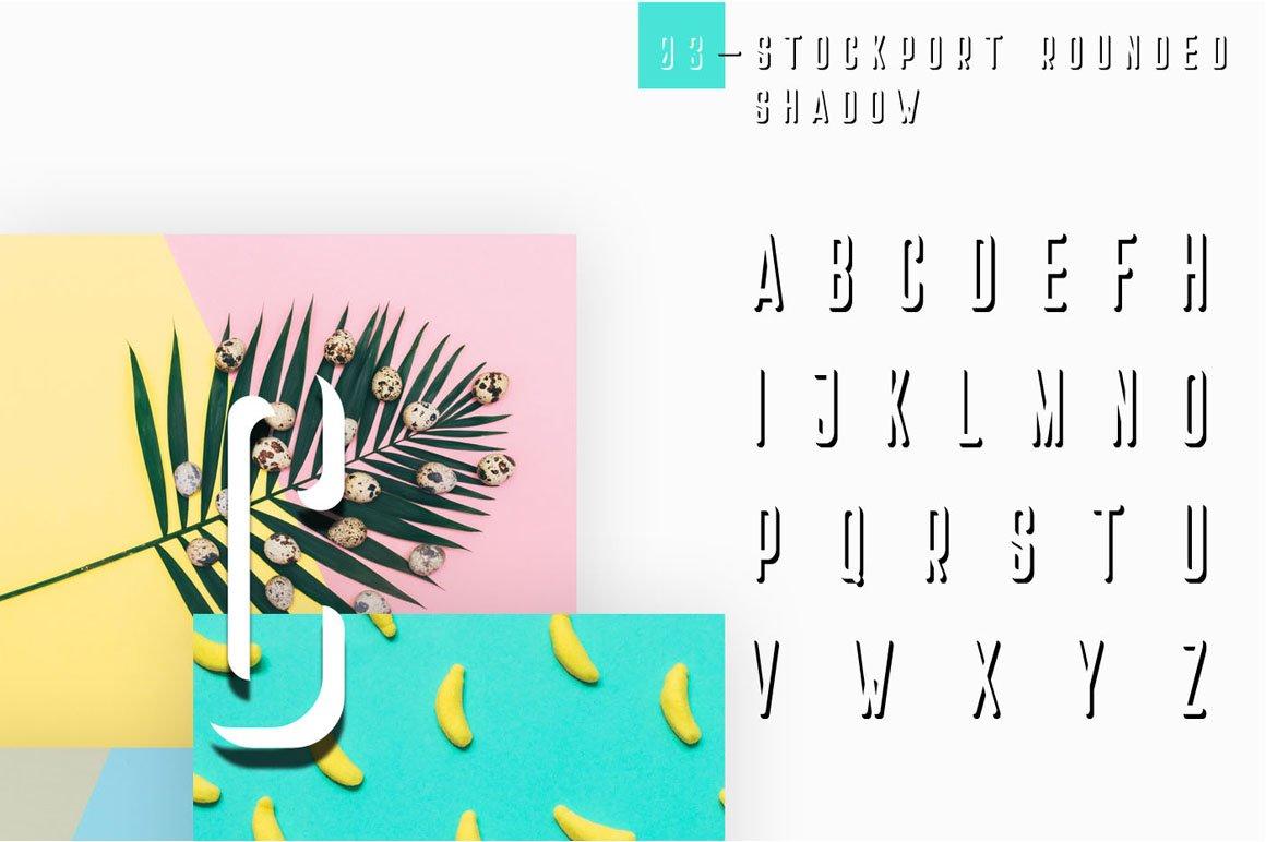 Stockport Rounded + Bonus Logo example image 8