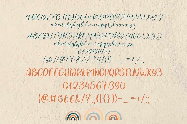 Rainy Sunday Font Duo example image 5