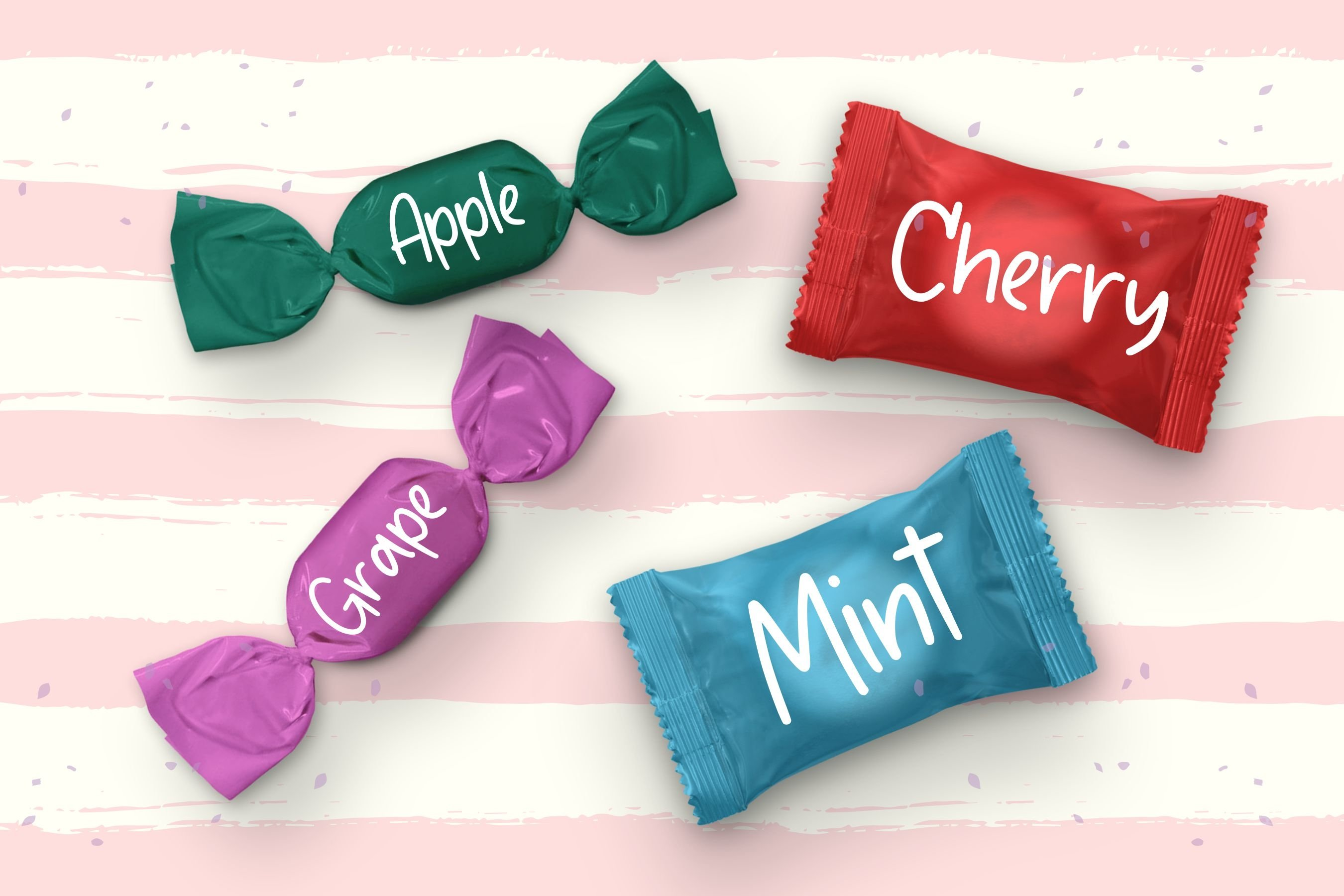 Candycane Playful Handwritten Font example image 5