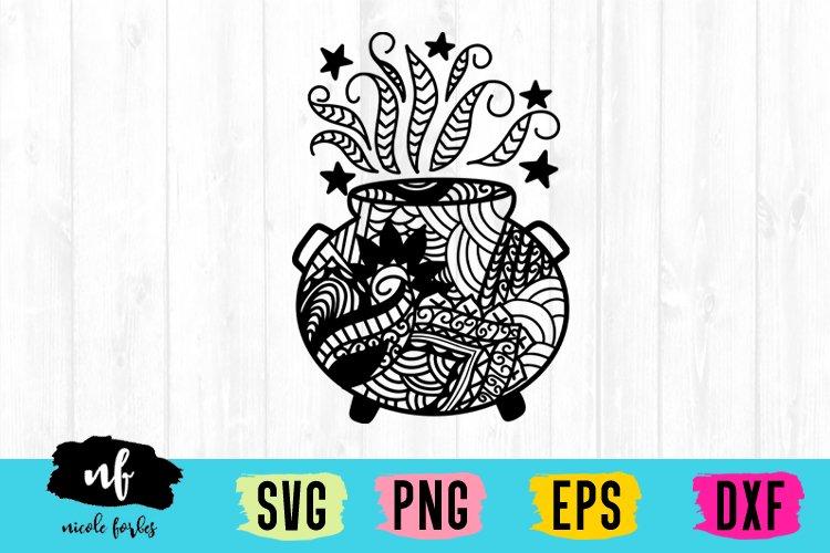 Halloween Zentagle SVG Bundle example image 7