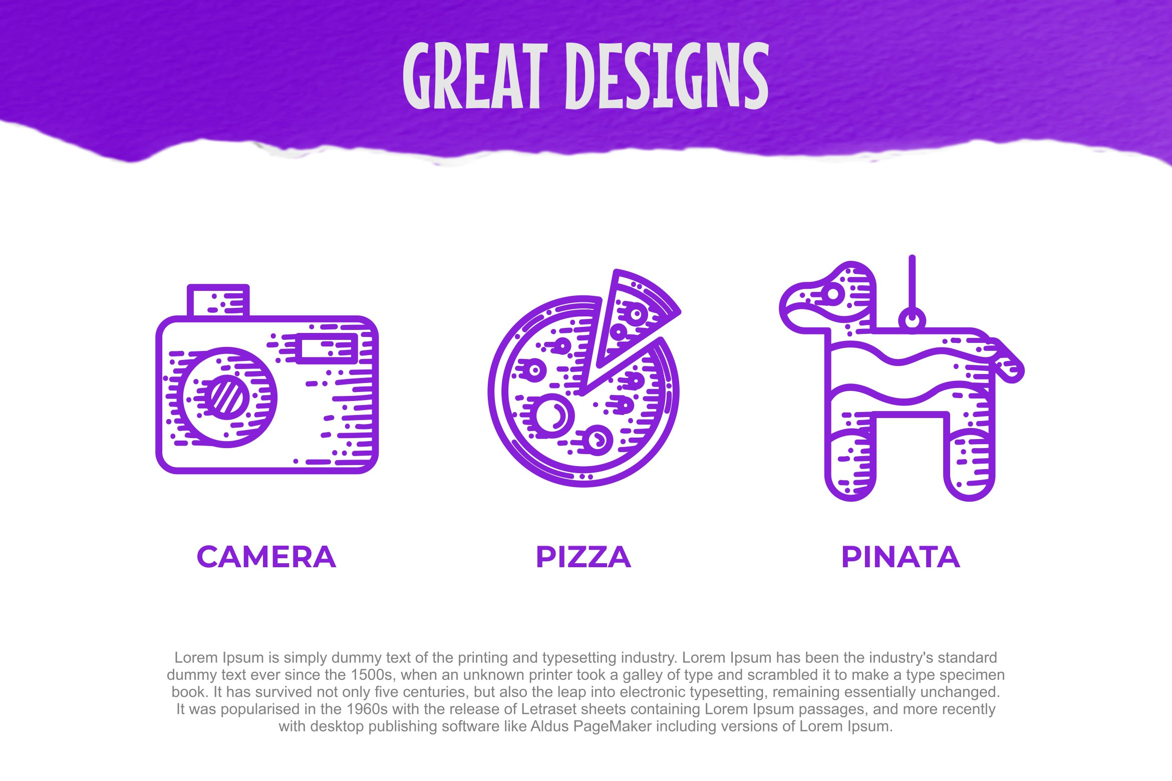Party Dingbats Font example image 3