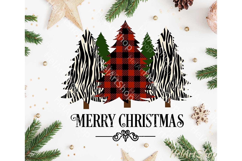 Buffalo Plaid Christmas Trees Svg Christmas Shirt Svg 1041852 Cut Files Design Bundles