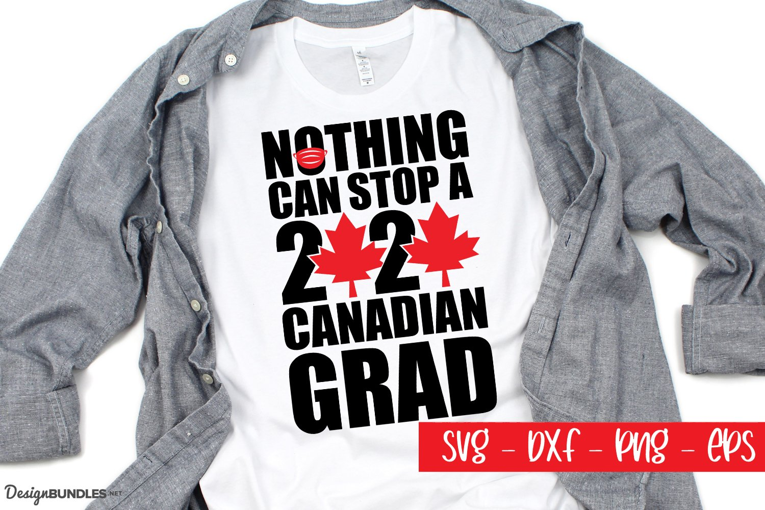 Canadian Grad - A Canadian Cut File example image 1