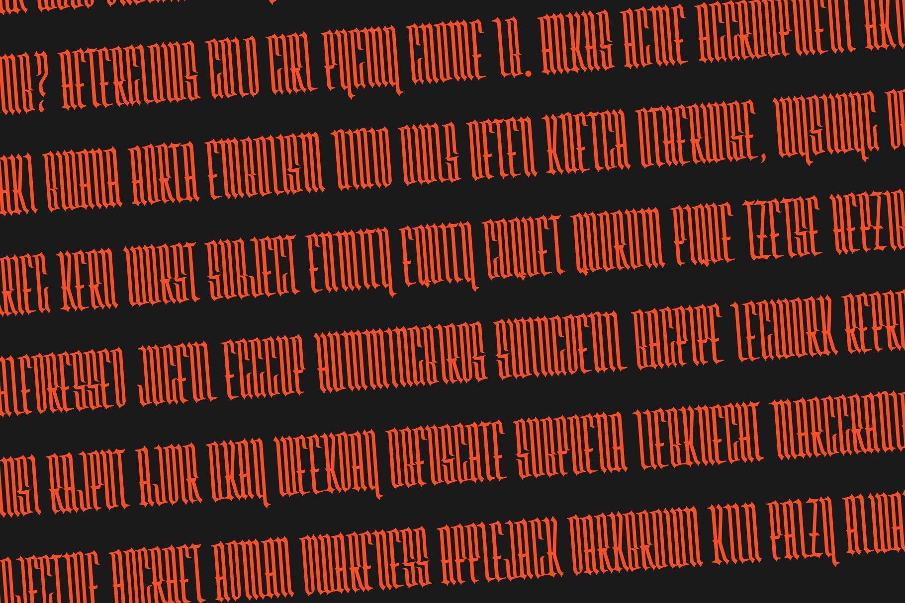 Washboard typeface example image 4