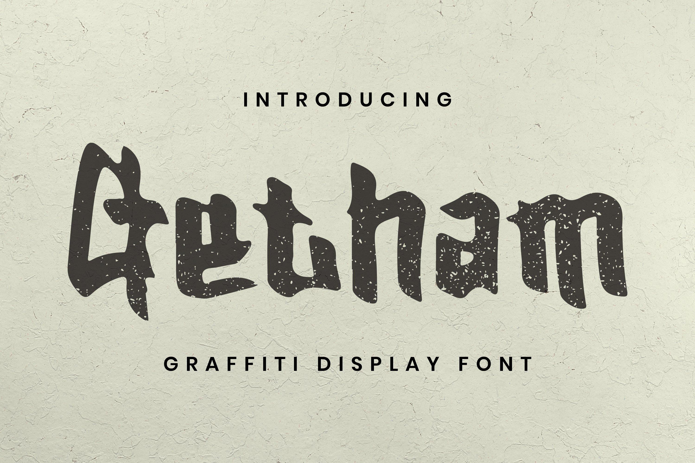 Getham Font example image 1