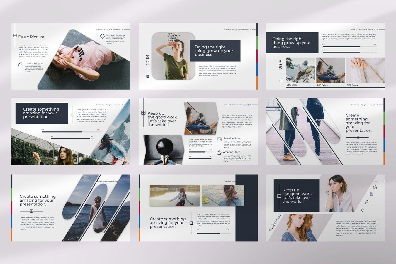 Flowerwall Business Google Slide example image 6