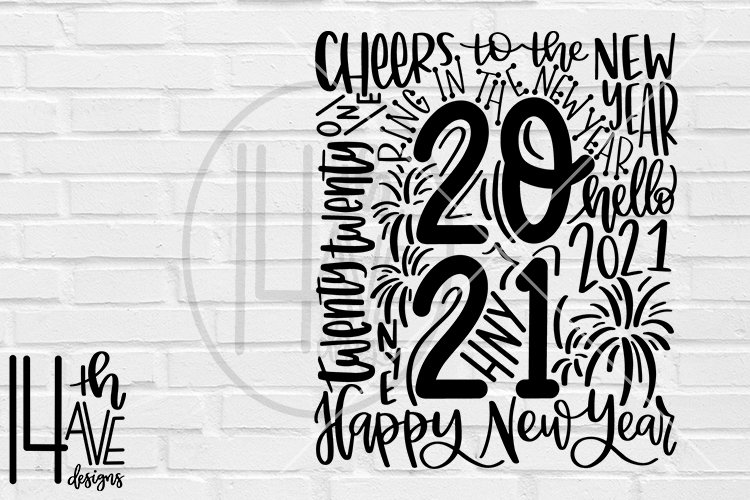 2021 typography happy new year svg new year s eve png 888281 hand lettered design bundles 2021 typography happy new year svg new years eve png