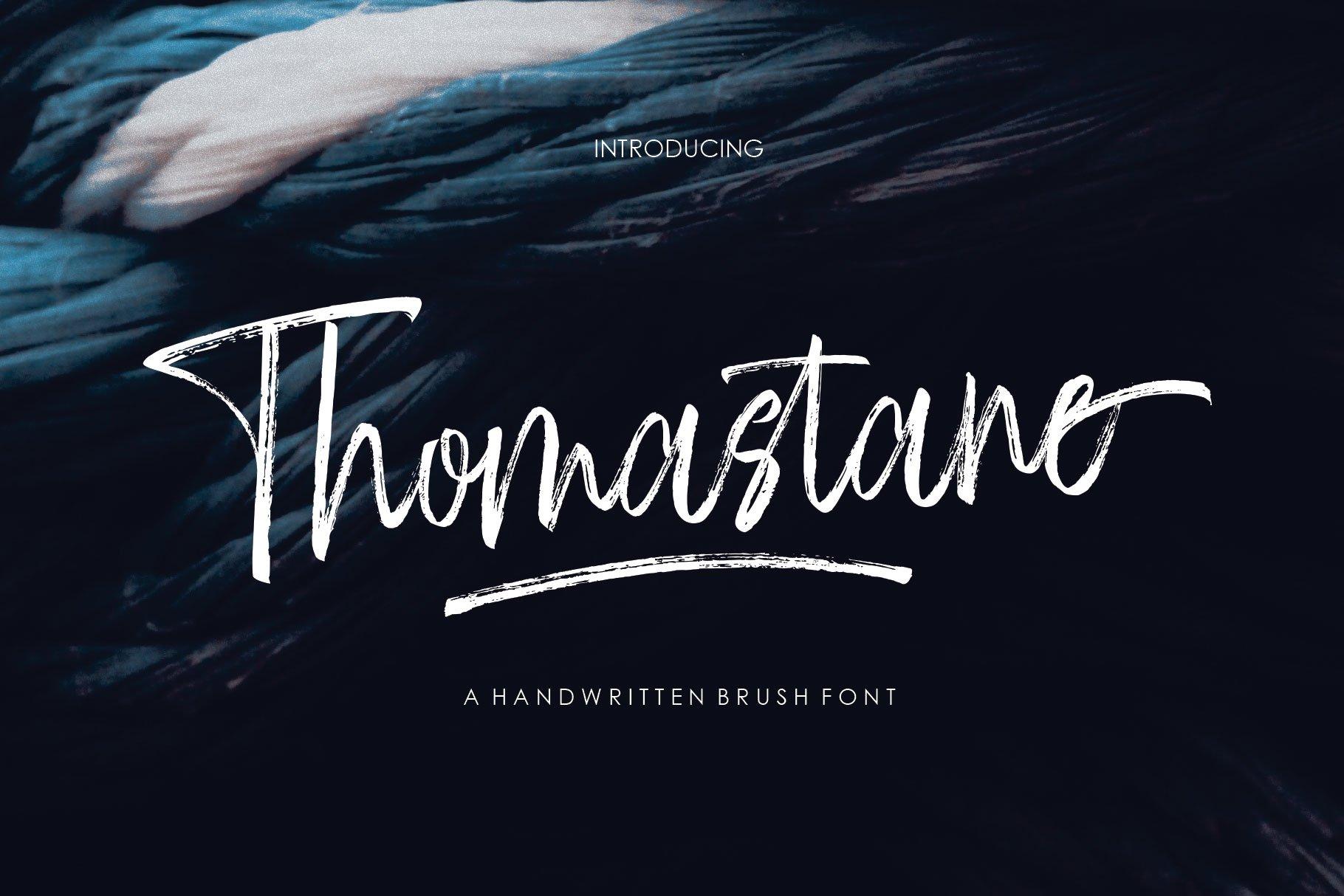 Thomastane Font example image 1