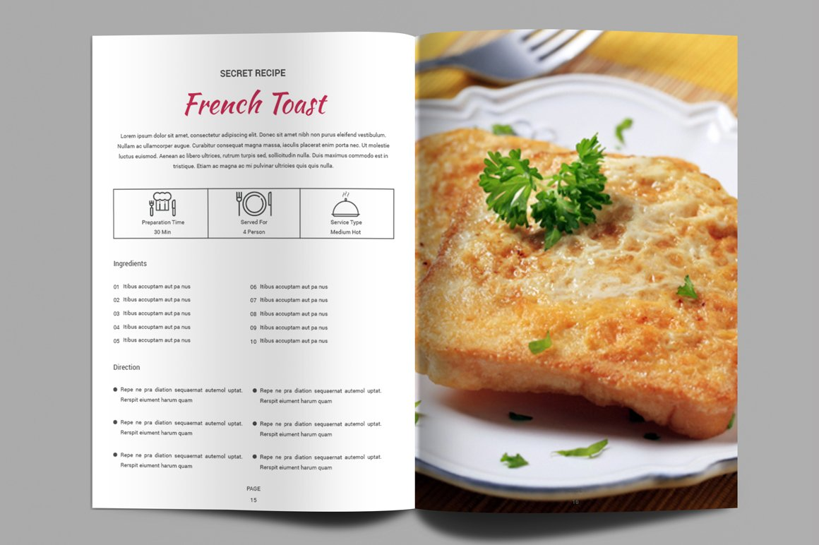 Recipe Book | Cook Book example image 5