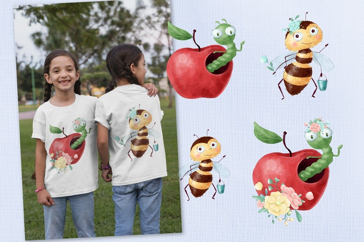 Cute Insects example image 7