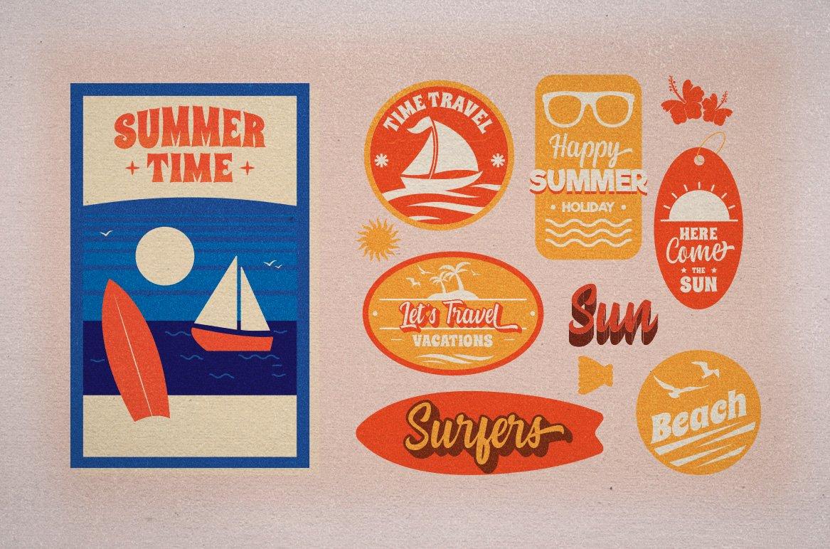 Summer Fruit - Logo Font example image 11