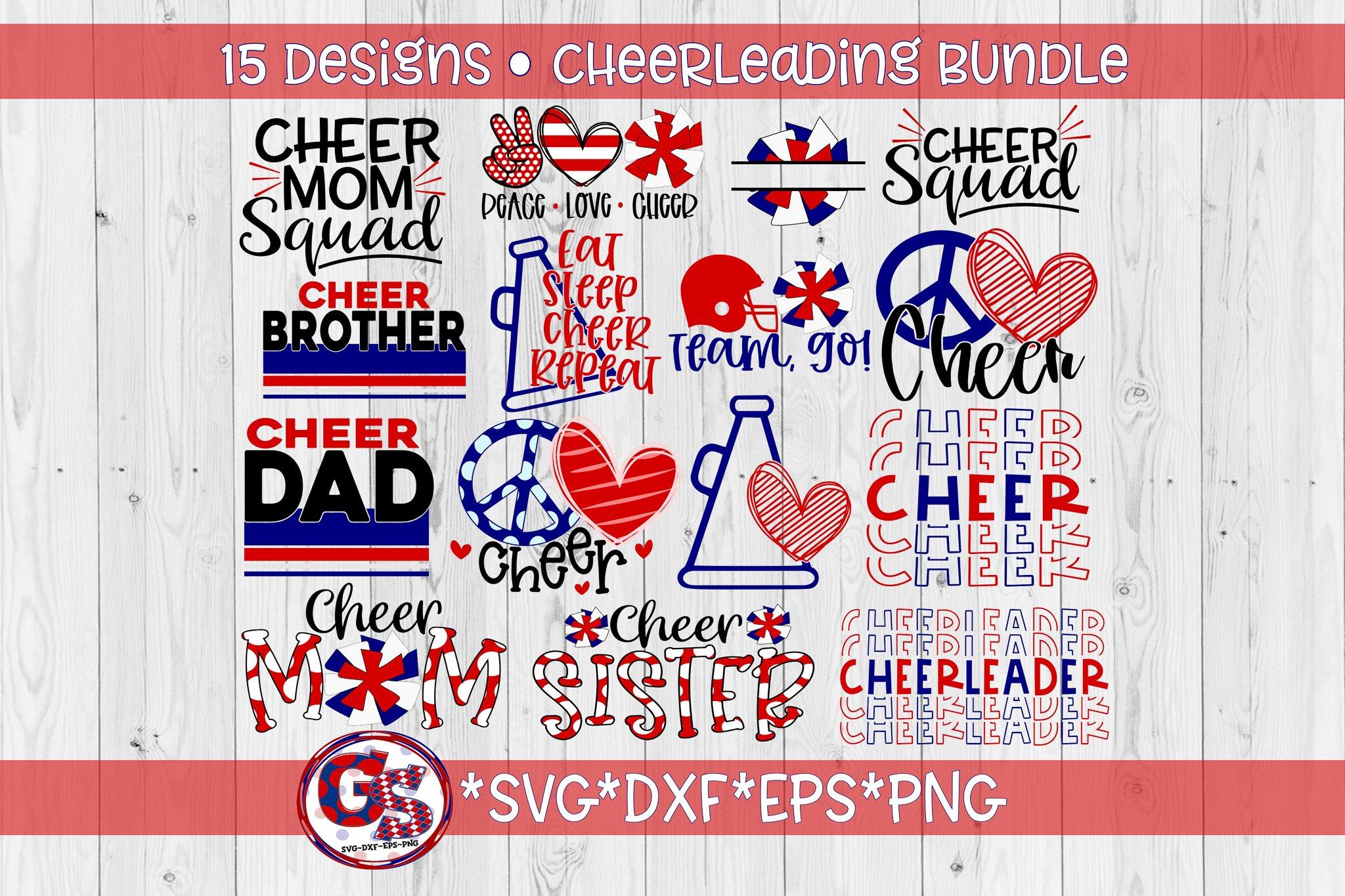 Cheer Bundle Svg Dxf Eps Png Cheerleader Svg Bundle 772356 Svgs Design Bundles