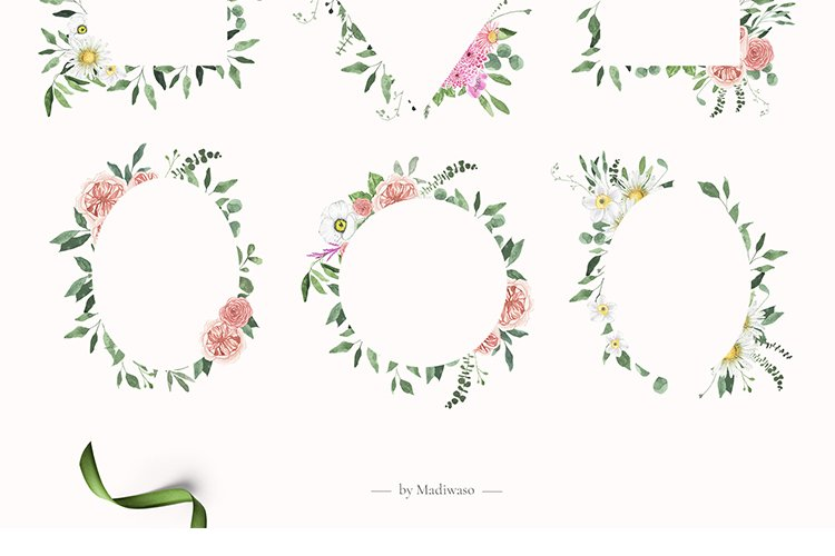 Summer Floral Fields collection example image 8