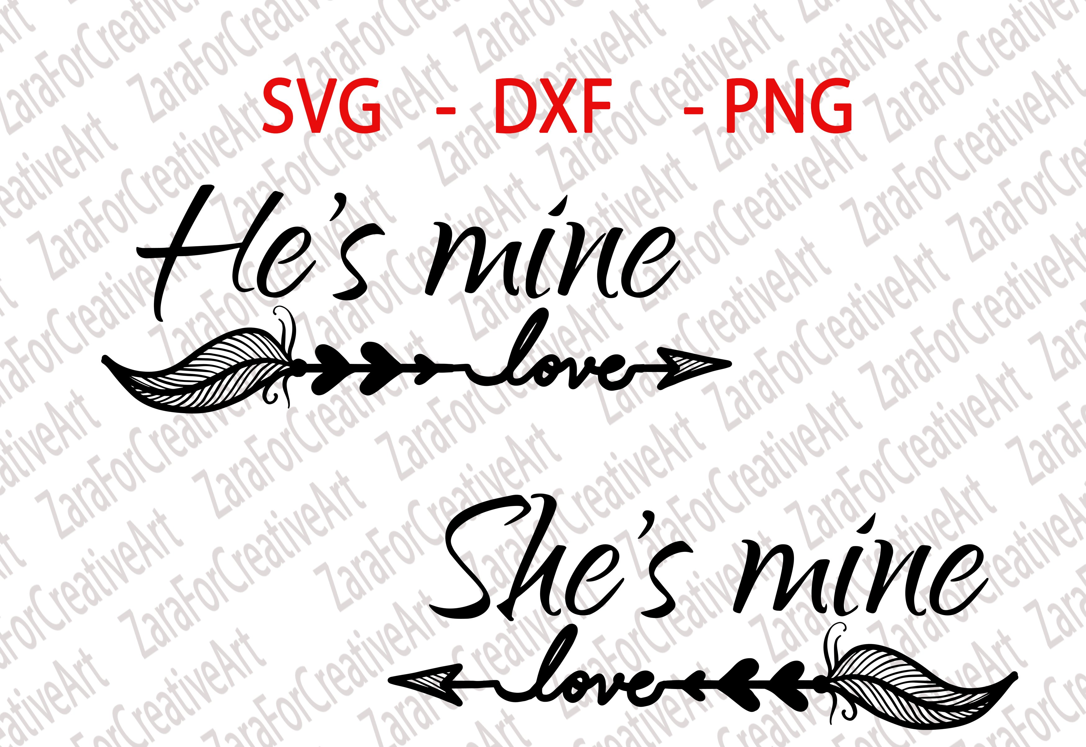 He S Mine She S Mine Svg Dxf Png Cutting Files Cricut Silhouette Cameo Die Cut Love Couple Matching Wifey Hubby Love Kiss Miss U 94979 Svgs Design Bundles