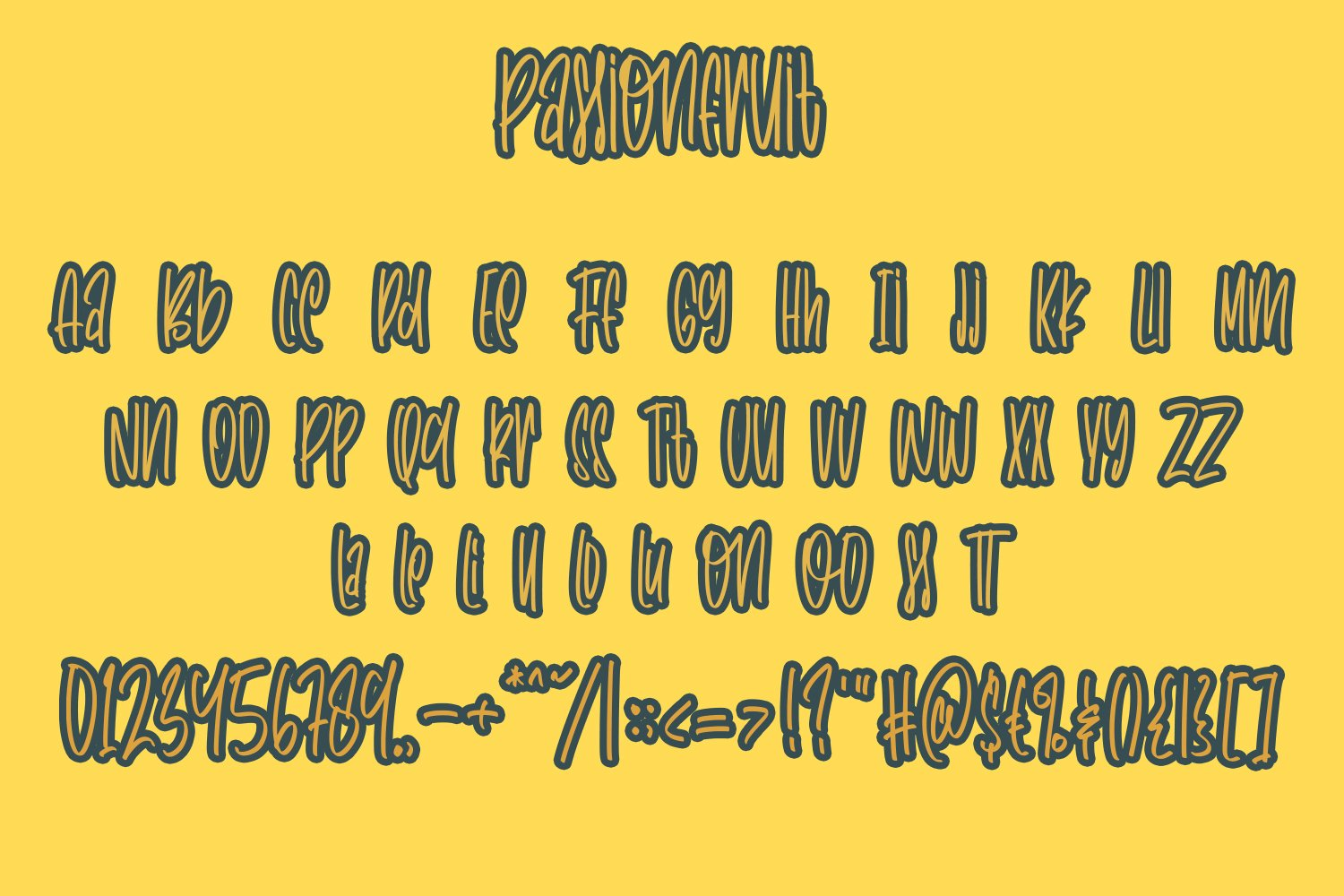 Passionfruit - Fancy Fonts example image 4