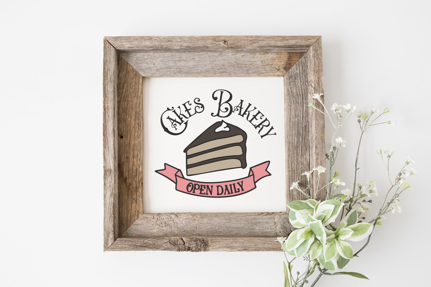Cakes Bakery SVG | Kitchen Sign SVG example image 2