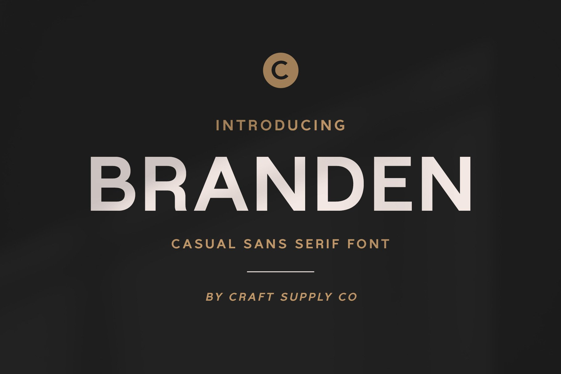 Branden - Casual Sans Serif Font example image 1