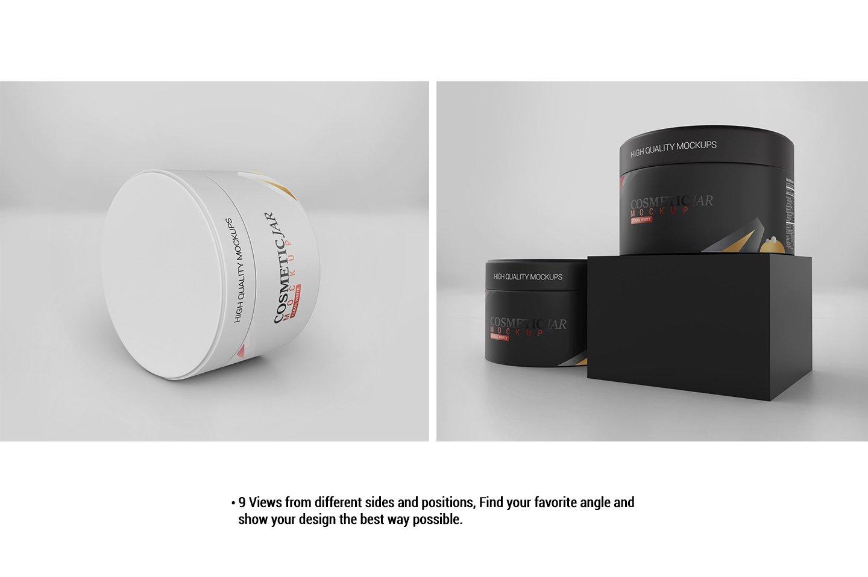 Cosmetic Jar Mockup example image 3