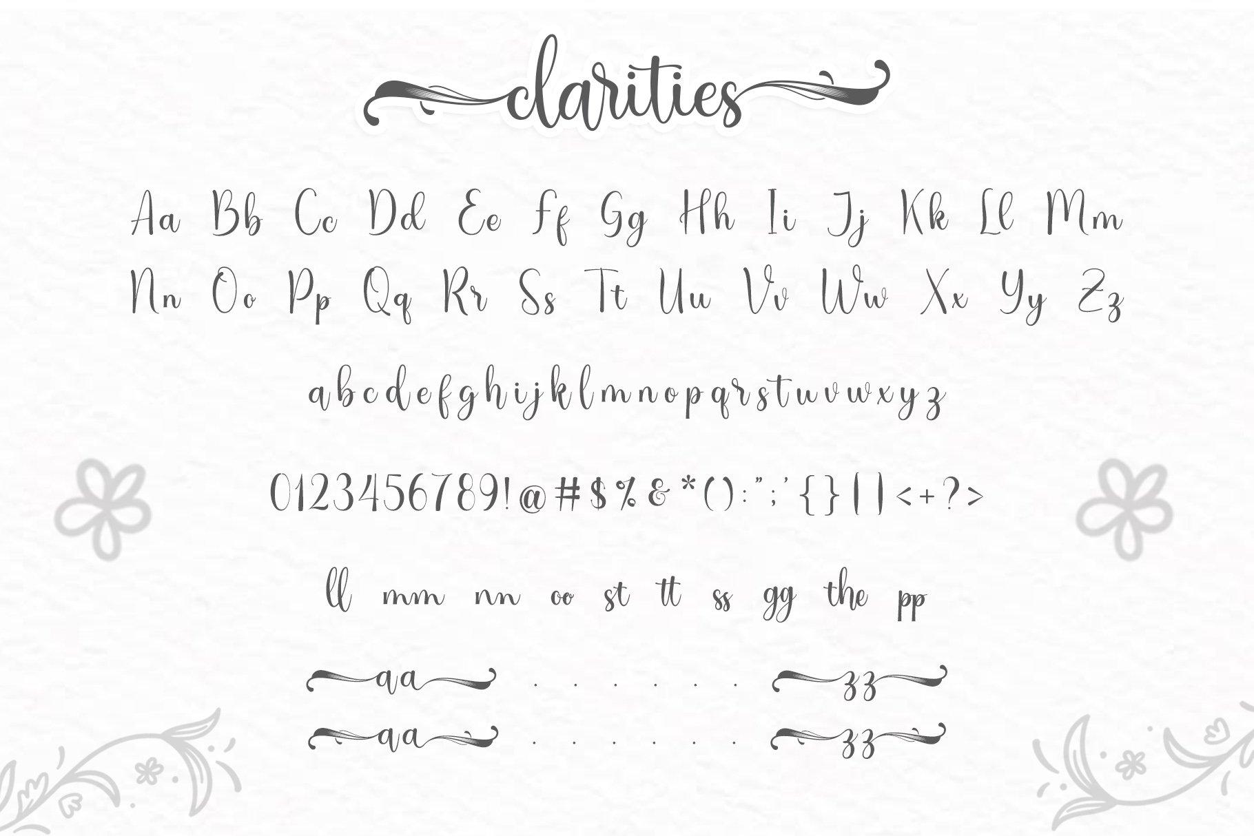 Clarities example image 3