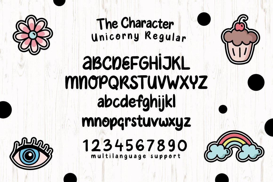 Unicorny Typeface example image 4
