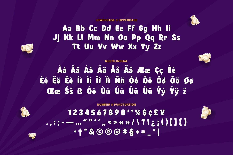 Roshën - Bold Playful Font example image 2
