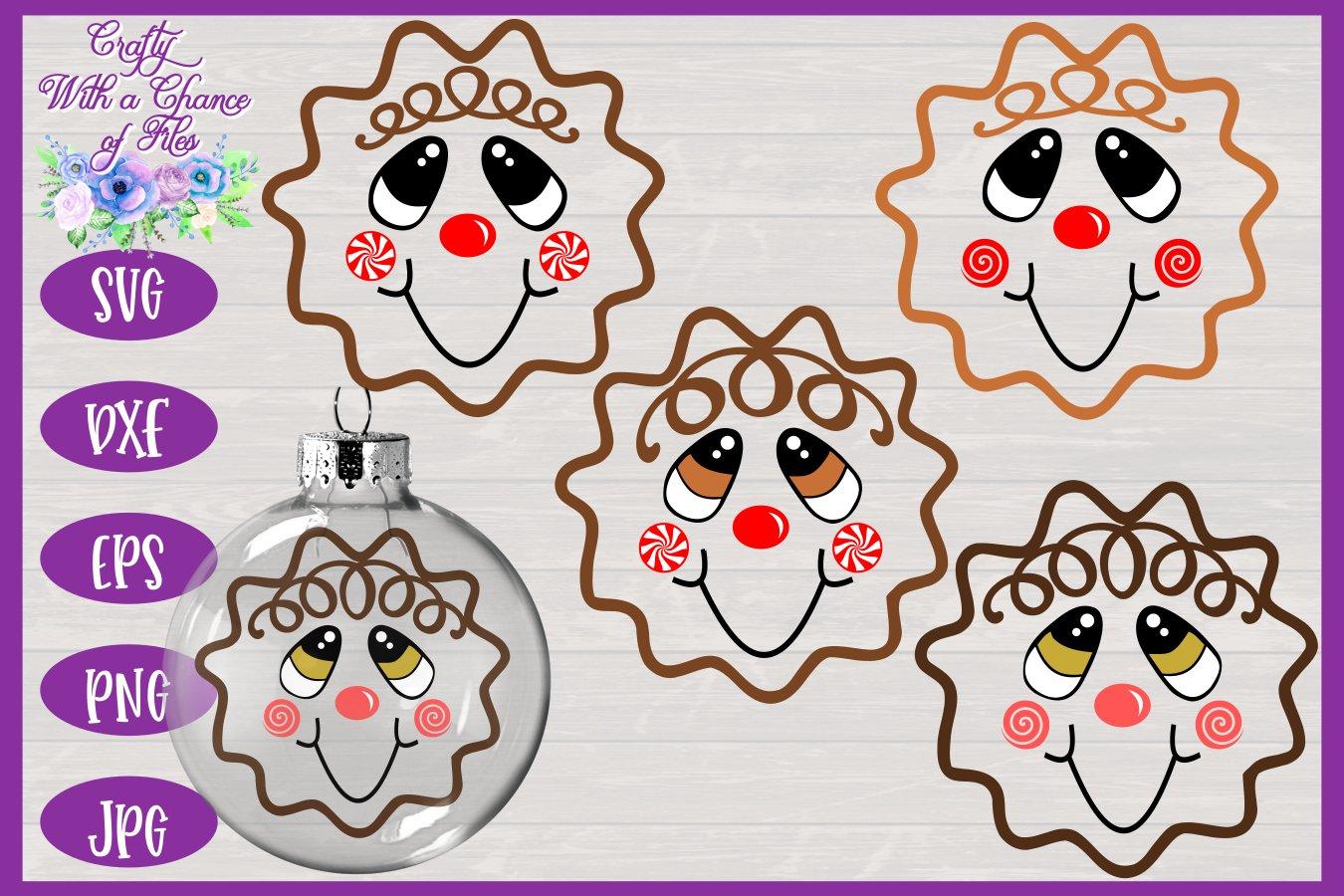 Gingerbread Man Svg Christmas Svg Ornament Svg Decor 10774 Svgs Design Bundles