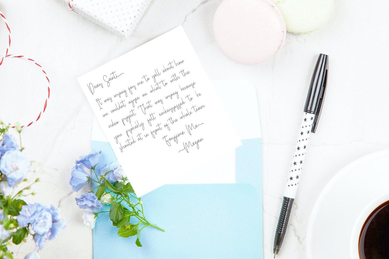 Miya Wayne - Modern Lovely Script Font example image 7