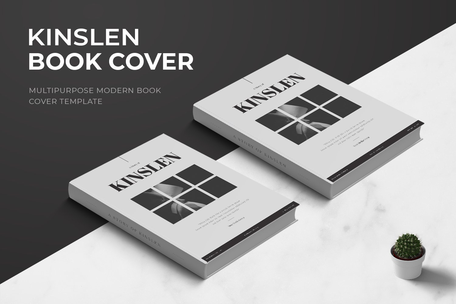 Kinslen Book Cover example image 1