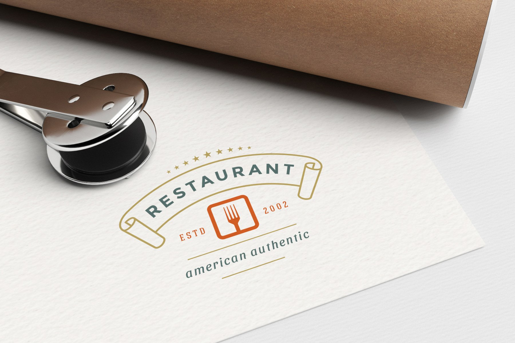 36 Restaurant Logos and Badges example image 15
