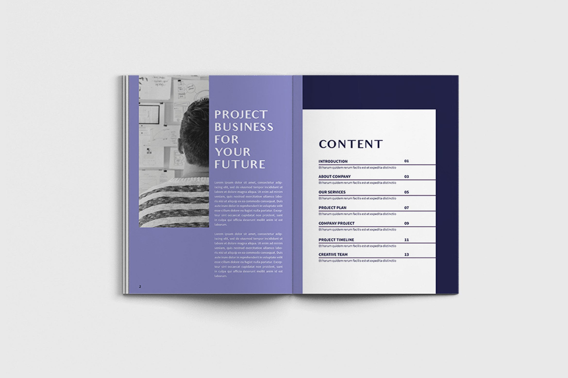 Exposina - A4 Business Brochure Template example image 5