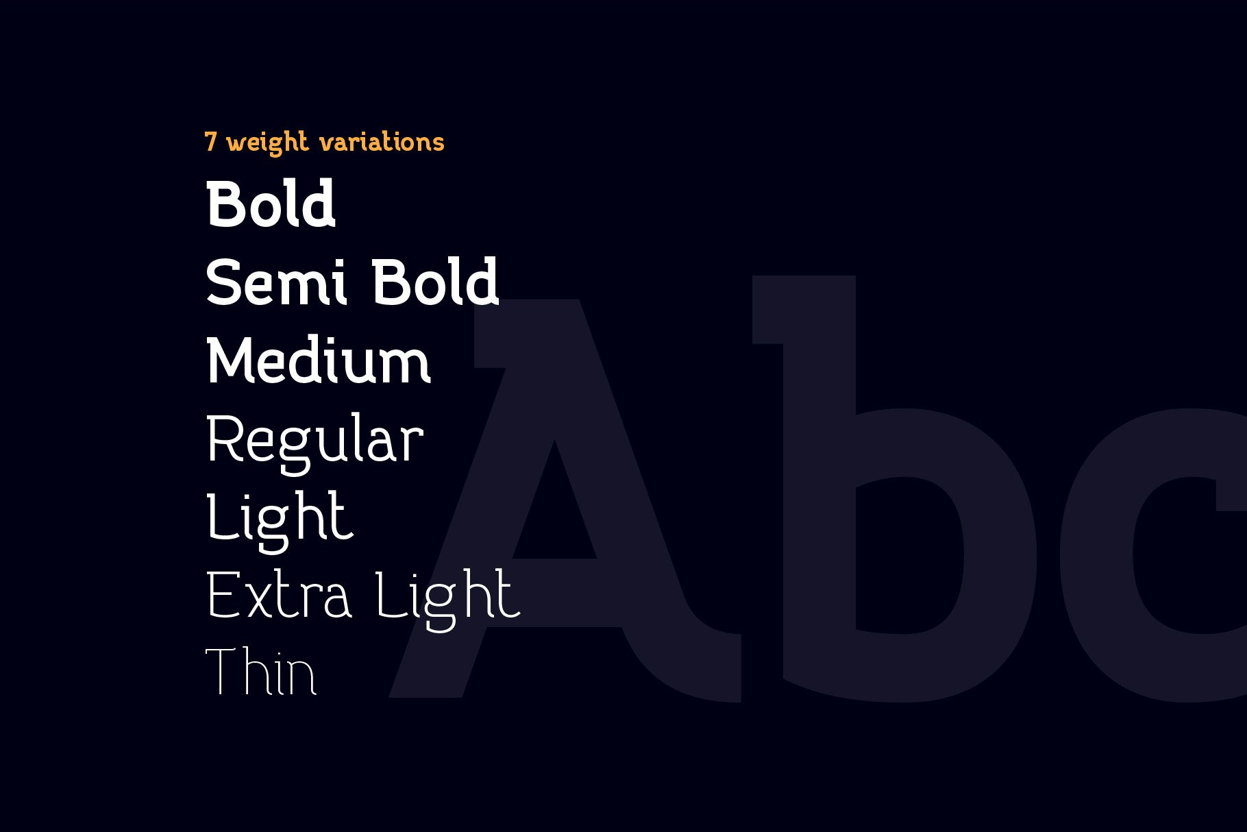 Practish font family example image 3