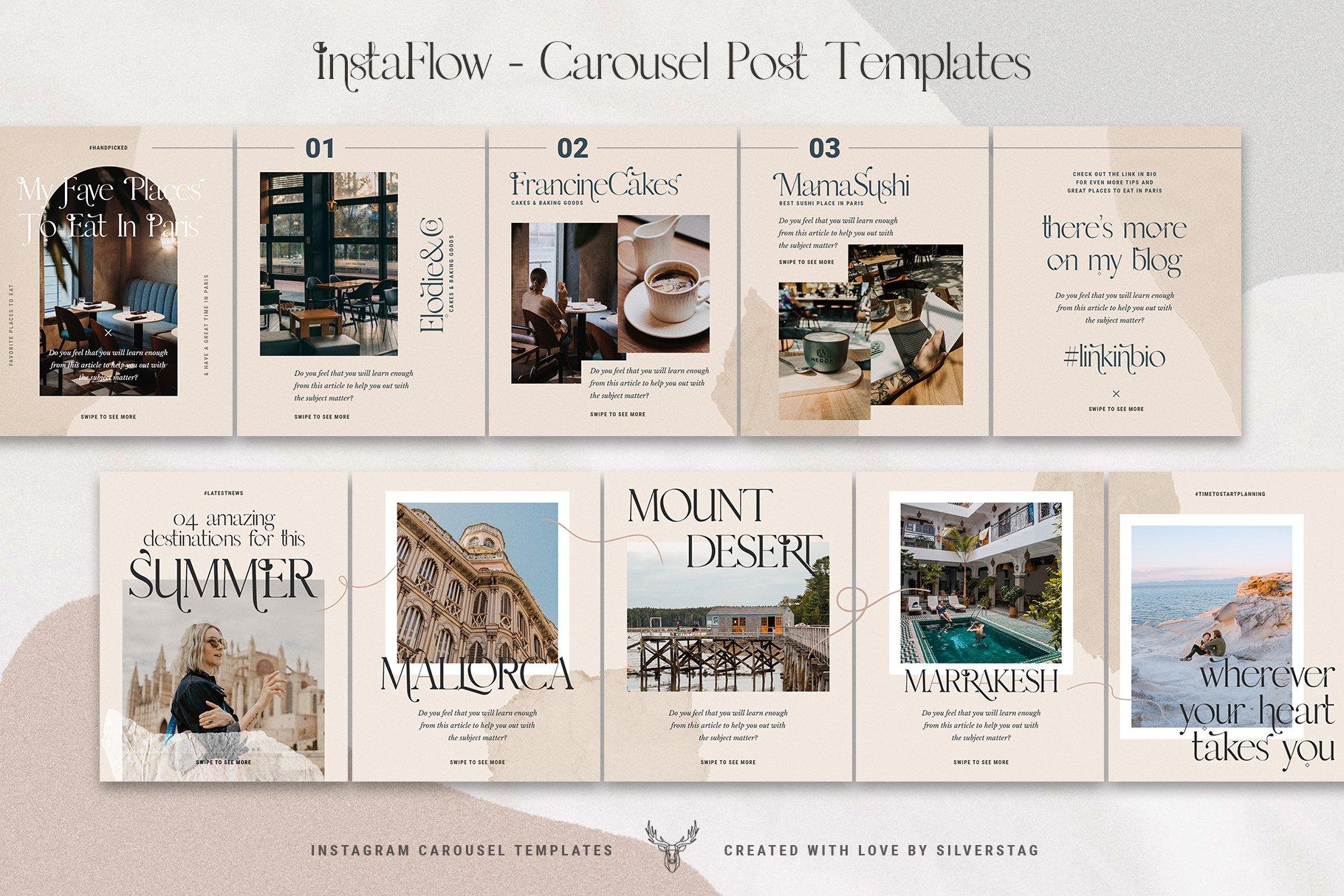 #InstaFlow Carousel Posts & Stories example image 12
