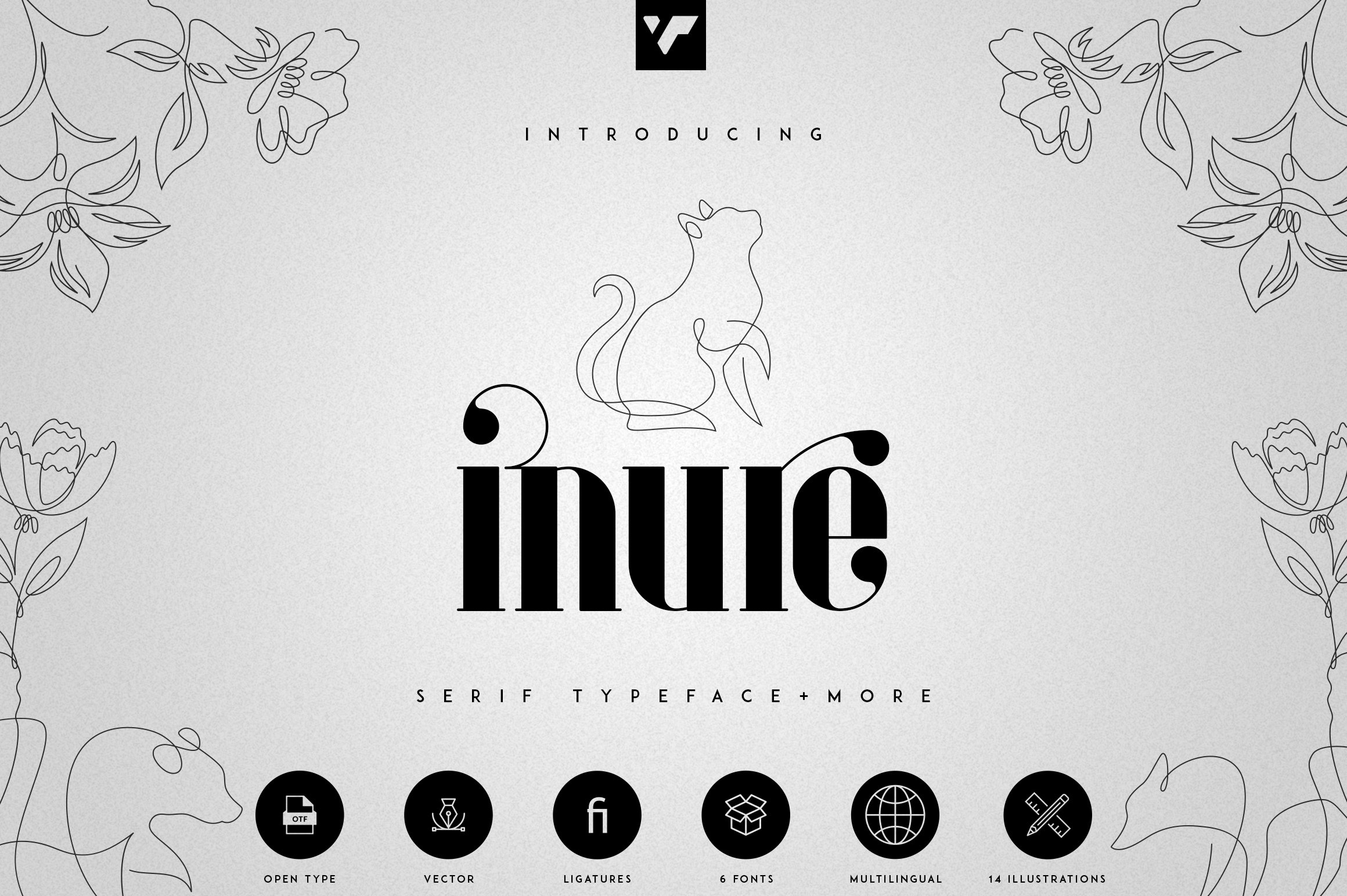 Inure - Serif Typeface More example image 1