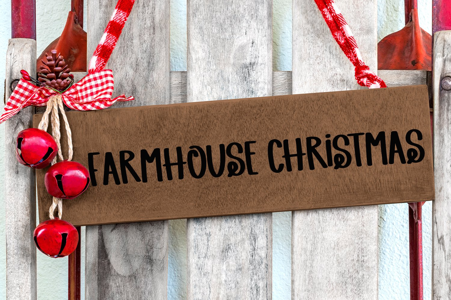 Christmas Spirit - A Hand-Lettered Christmas Font example image 3