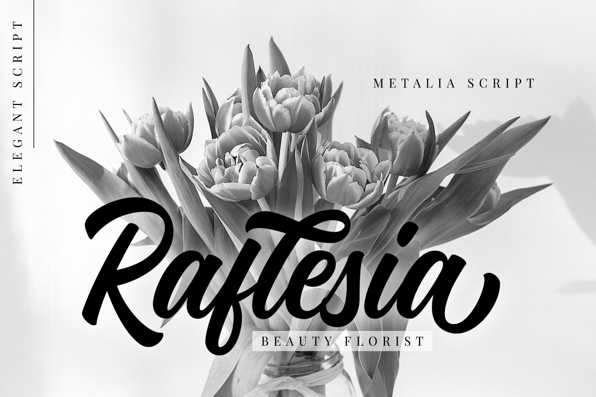 Metalia Script example image 3