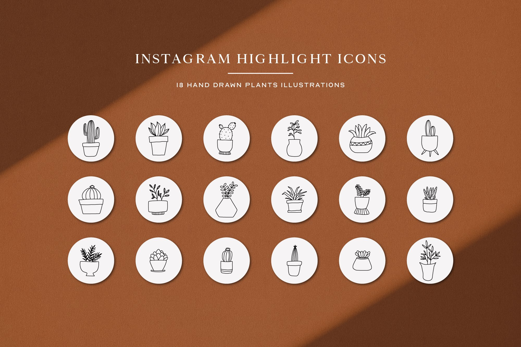 Instagram Plant Highlights Icons | Instagram Story Cover example image 2
