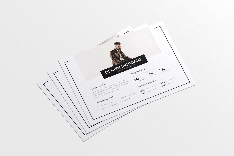 Liniez Media Kit Blog example image 2