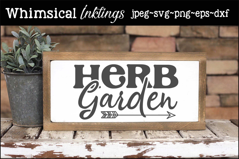 Herb Garden SVG example image 1